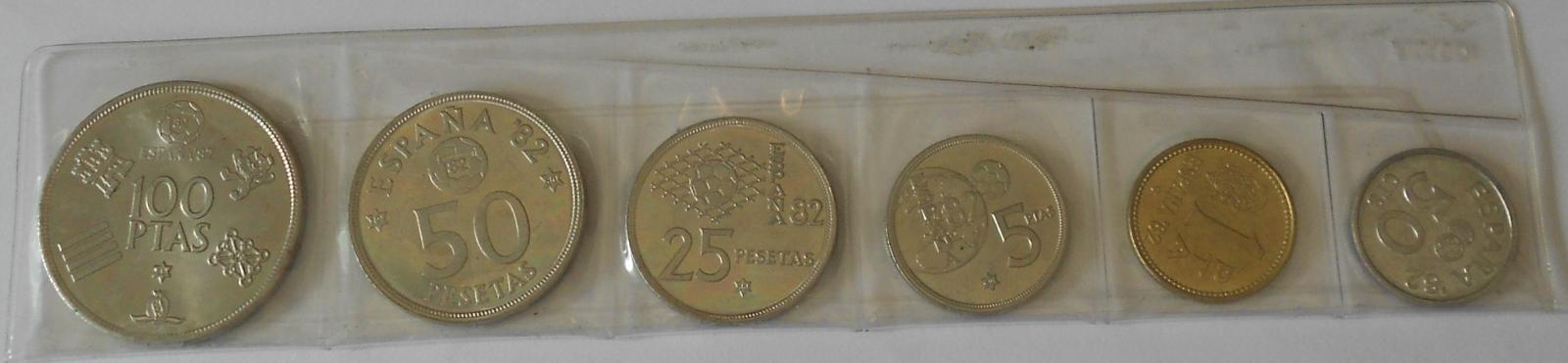 Španělsko Sada mincí - Carlos