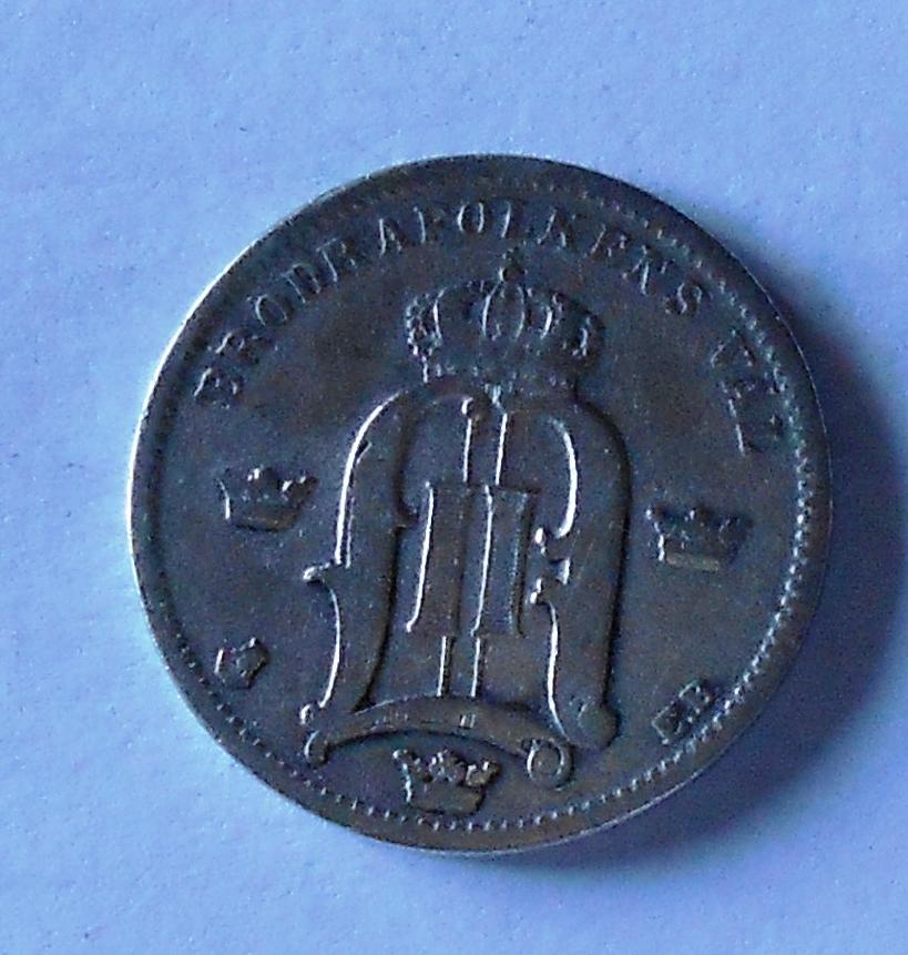 Švédsko 50 Öre 1883