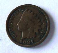USA 1 Cent 1887