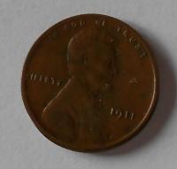 USA 1 Cent 1911