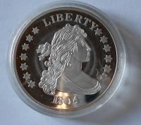 USA Dolar 1804, KOPIE