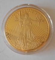 USA Liberty 1933 , průměr 40 mm