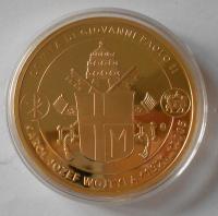 Vatikán ze života Jana Pavla II., průměr 50 mm