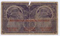 100Kč/1919/, stav 4, série 0007