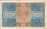 20Kč/1919/, stav 2, série P 236