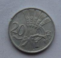 ČSR 20 Haléř 1951 stav