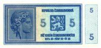 KOPIE 5Kč/1938/, stav UNC