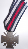Německo – PATINOVÁ Kříž pro bojovníky s meči