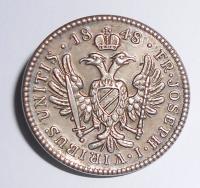 Rakousko Knoflík 1845