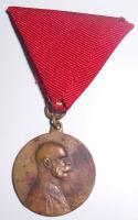 Rakousko Pamětní medaile FJI, původní stuha