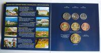 Ročníková sada oběžných mincí ČR (2010-Zlínský Kraj), stavy 0/0