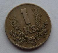 Slovensko 1 Koruna 1942