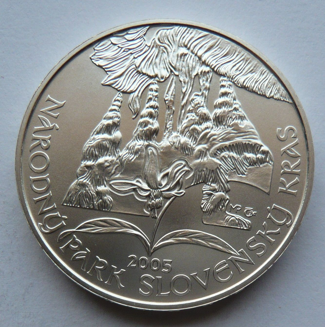 Slovensko 500 Koruna 2005 Slovenský kras
