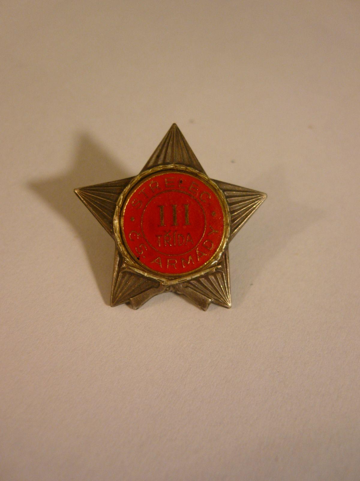střelec čs. armády III.tř., ČSR