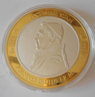 Vatikán Papež Jan Pavel I. , průměr 70 mm