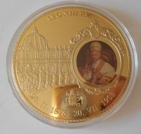 Vatikán Papež Leo XIII. , průměr 70 mm