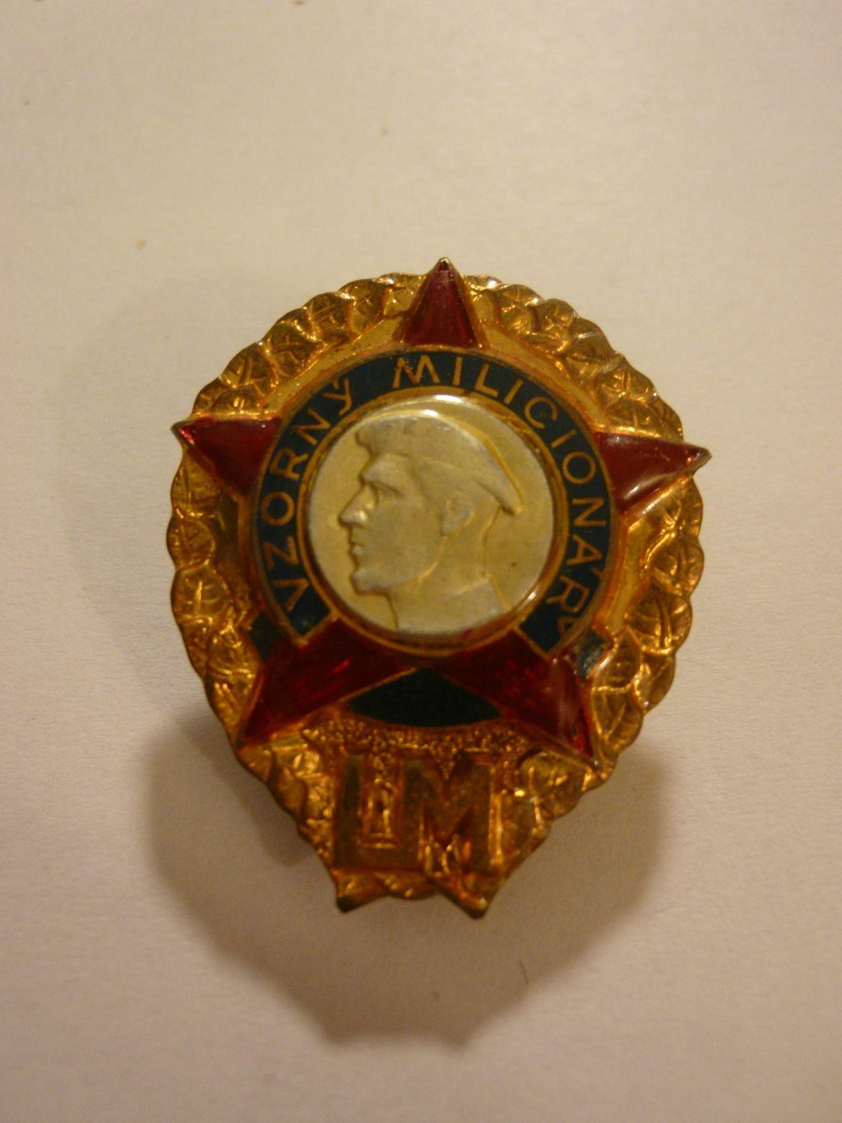 vzorný milicionář, ČSSR