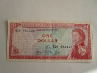 1 Dollar, Východní Karibik, Alžběta II.