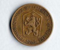 1 Kčs(1967), stav 1-/2+