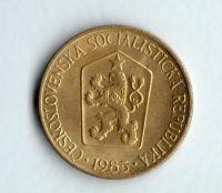 1 Kčs(1985), stav 1+/1+