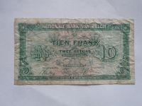 10 Frank, Belgie, 1948