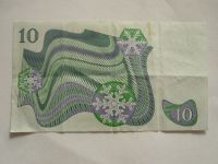 10 Krone, Švédsko, 1984