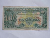 10 Schillings, Britská armáda,, 1948