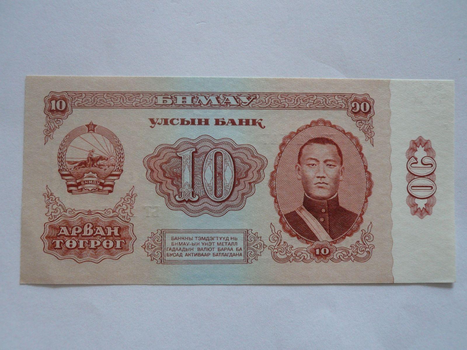 10 Tegreg, Mongolsko, 1966