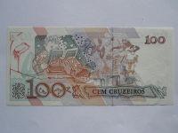 100 Cruzeiros, Brazilie, žena