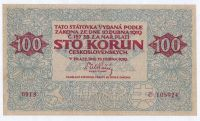 100Kč/1919/, stav 1, série 0013