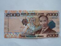 2000 Leones, S.Leone, 2010