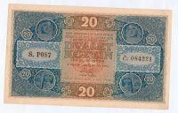 20Kč/1919/, stav 0, série P 087