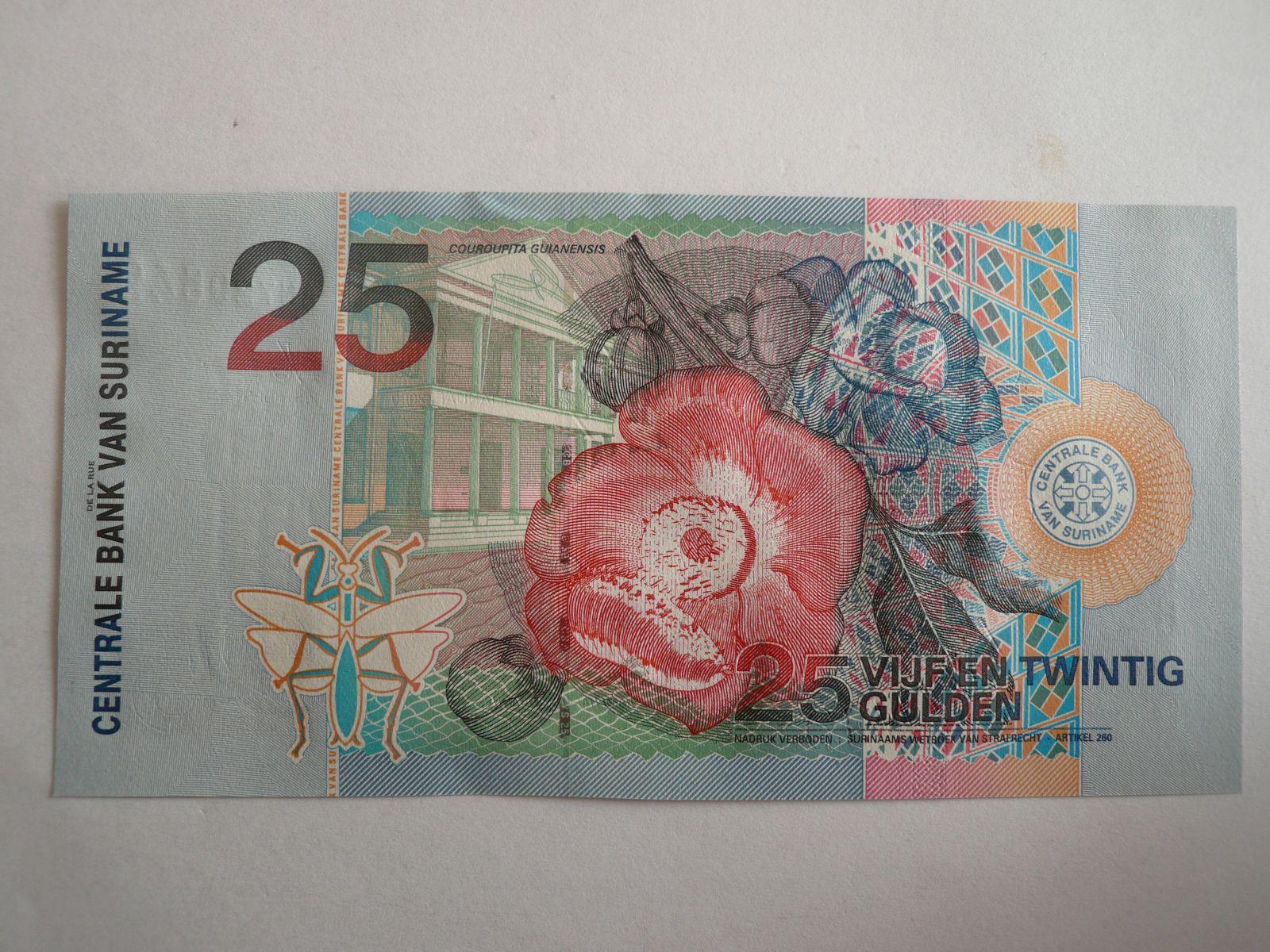 25 Gulden, Surinam, 2000