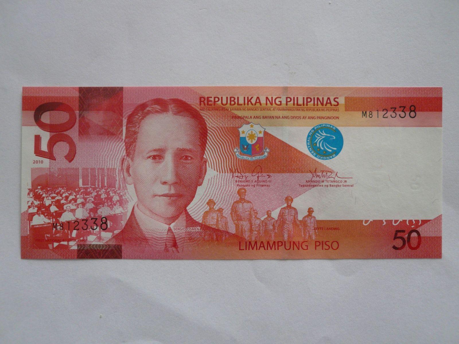 50 Peso, Filipíny, S.Osmena