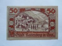 50 Pf., Německo-nouzovka, 1920