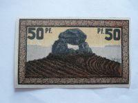 50 Pf.,Německo-nouzovka, 1921