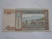 50 Tegreg, Mongolsko, 2 koně