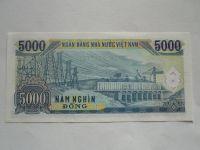5000 Dong, Vietnam, 1991