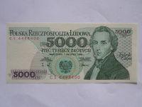 5000 Zlotých, Polsko, 1988