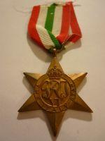 Hvězda STAR- Za boje v Itálii, V.Británie