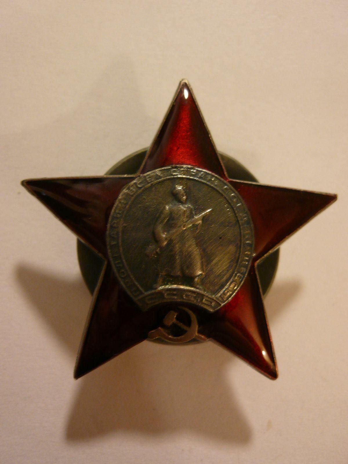 hvězda velké vlastenecké války- nositelská kopie, SSSR