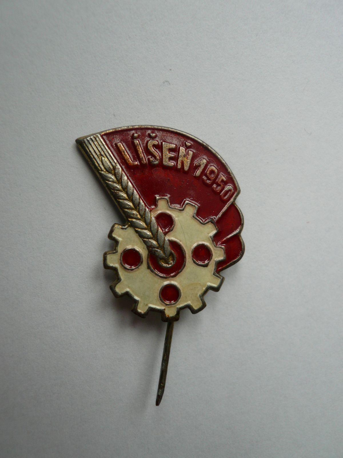 Líšeň 1950, ČSR