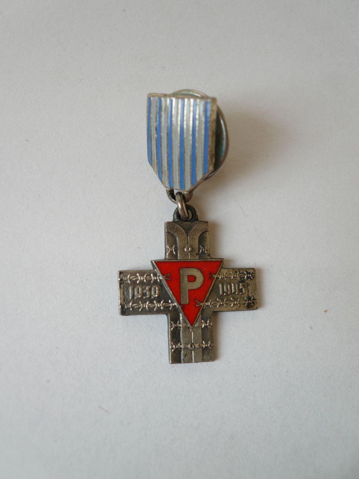 miniatura kříže polit.věznů, Polsko