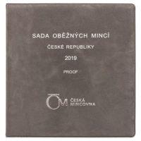 Ročníková sada oběžných mincí ČR (2019), stavy PROOF