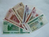 sada 6 ks bankovek, Bělorusko