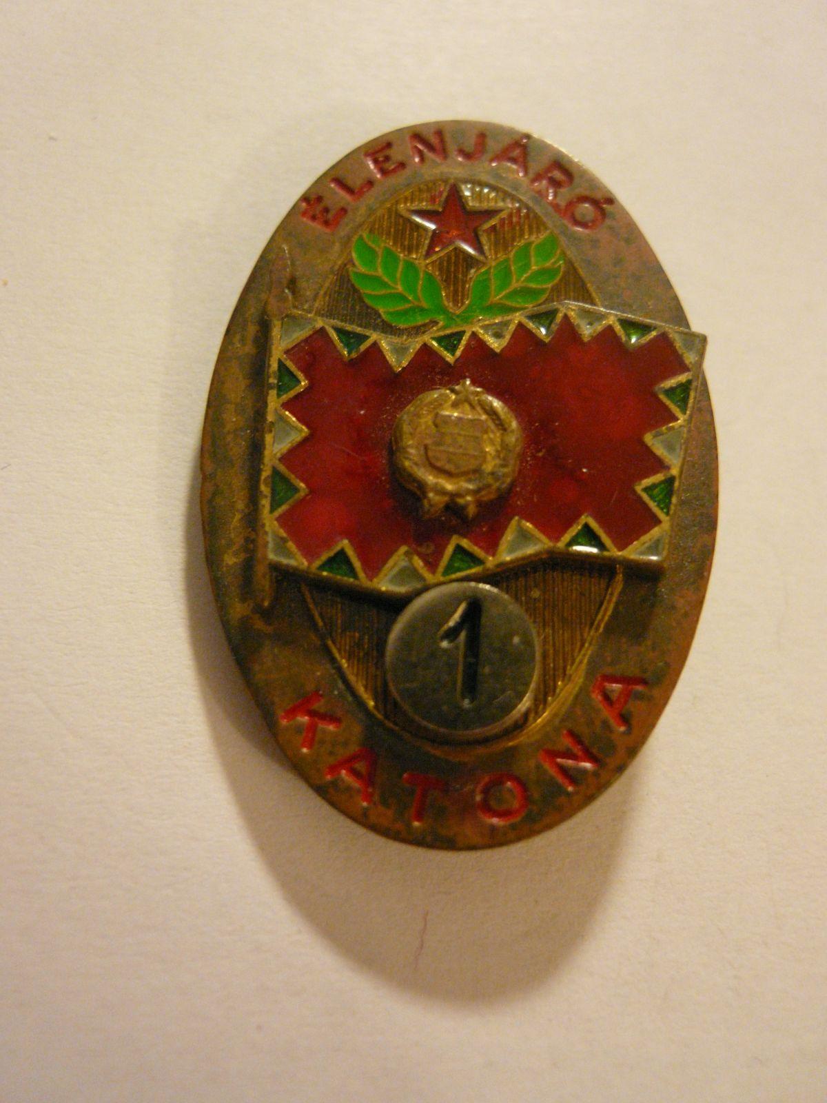 """vojenská třídnost """"1"""", Maďarsko"""
