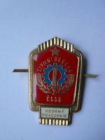 Vzorný pracovník civilní obrany, ČSSR