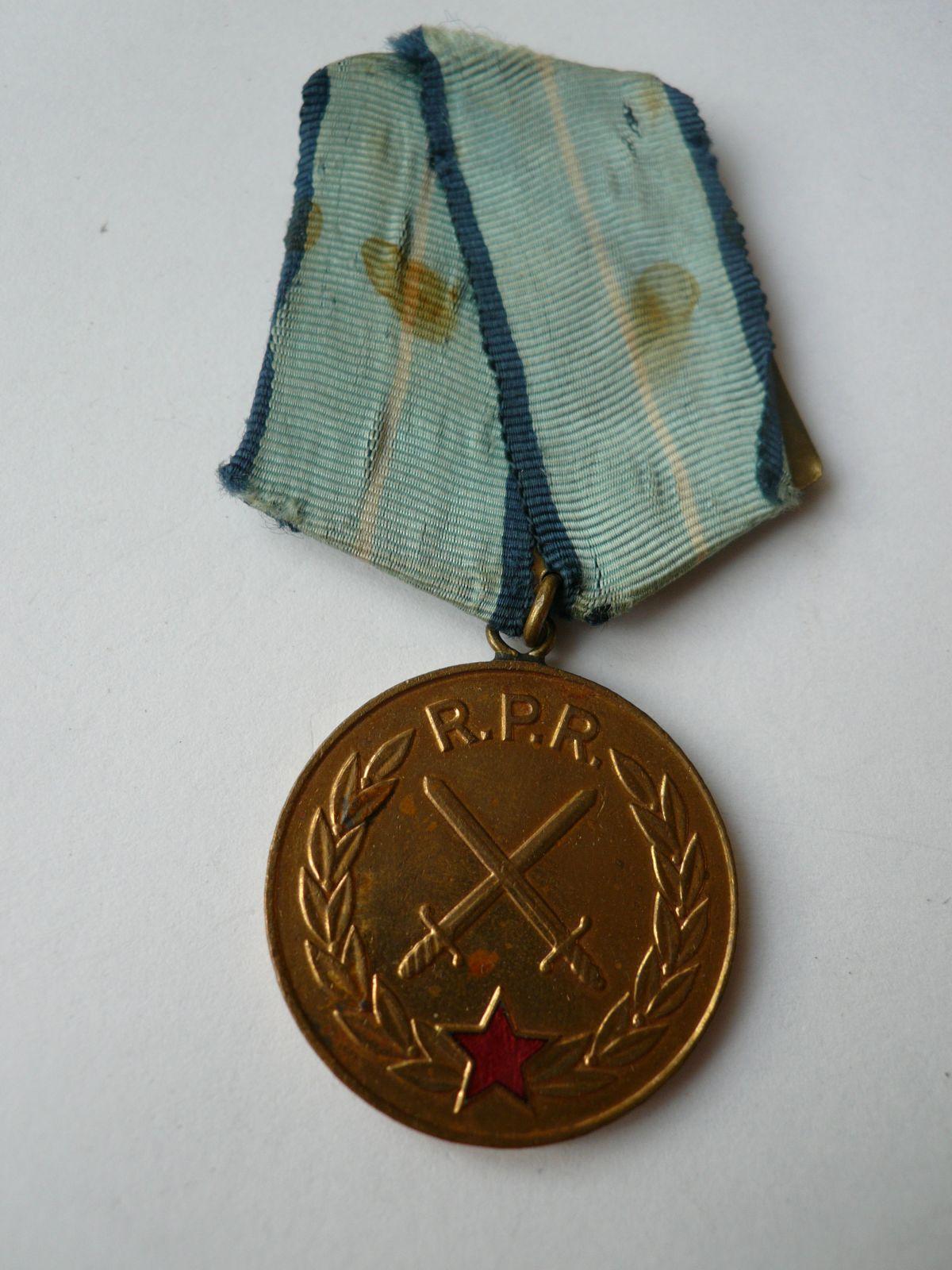 Za bojové zásluhy v socialismu, Rumunsko