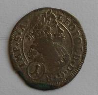 Čechy – K. Hora 1 Krejcar 1701 Leopold I.