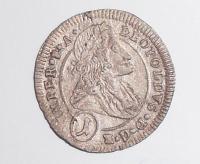 Čechy – K. Hora 1 Krejcar 1704 Leopold I.